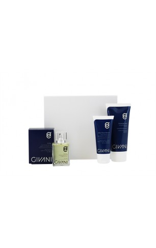 Cadeau Box Men  After Shave Balsem & Showergel & Active Face Wash & Fragrance naar keuze